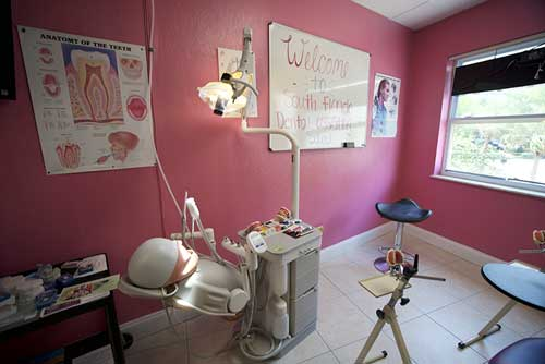 South Florida Dental Assisting School utilizes an actual dental office for the hands-on portion of training